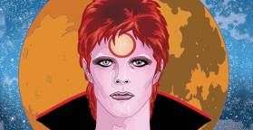 Michael Allred's Bowie is Music to My Eyes!